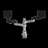 Monitorarm R-Go Caparo Dubbel | Accessoires voor je bureau | Worktrainer.nl