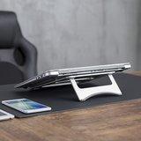 Laptop Verhoger Ultra Slim   Accessoires voor je werkplek   Worktrainer.nl