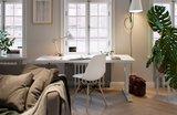 Zit-sta bureau Elements Wit/wit | kies voor een gezonde werkplek bezoek Worktrainer.nl