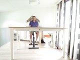 Honmove Statafel Stabureau zit sta bureau | kies voor een gezonde werkplek bezoek Worktrainer.nl