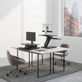 UpDesk One | Bureau verhoger  | kies voor een gezonde werkplek bezoek Worktrainer.nl
