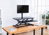 Monitorarm Updesk | Monitorstandaard voor op je bureauverhoger | Worktrainer.nl