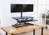 Monitorarm Dubbel | Geschikt voor twee schermen | Worktrainer.nl