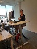 Sta op bureau | Zit-sta bureau SteelForce 300 | Bekijk alle zit sta bureaus op Worktrainer.nl