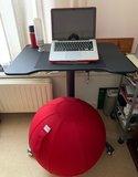 VLUV LEIV en Single Leg Desk | kies voor een gezonde werkplek bezoek Worktrainer.nl