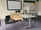 Steelforce 100 zit-sta bureau | Worktrainer.nl