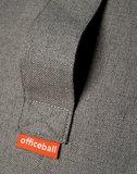 Handvat Office Ball - Balansbal | Balanceren achter je bureau | blijf in beweging | Worktrainer.nl