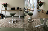 Y desk met Swopper Comfort | kies voor een gezonde werkplek bezoek Worktrainer.nl