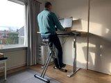 Deskbike Large bureaufiets | Fiets je fit achter je bureau | Worktrainer.nl