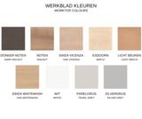Werkbladkleuren HomeFit inklapbaar zit-sta bureau | Opbergbaar in een kastje | Worktrainer.nl