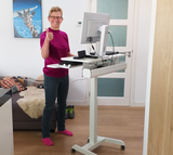Updesk High - Zit-sta Bureau | Worktrainer.nl