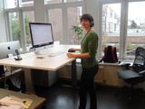 Aluforce 140 zit-sta bureau worktrainer.nl
