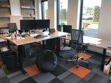Verstelbaar Elektrisch Zit-Sta Bureau Steelforce 670 - Worktrainer.nl