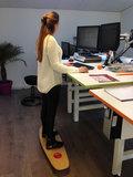 Togu Balanza Freeride balansstep Worktrainer.nl