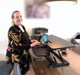 UPdesk cross elektrische bediening worktrainer.nl