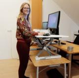 UPdesk XL zit-sta verhoger Worktrainer.nl