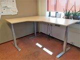 Electric Sit-Stand Corner Desk - SteelForce 471