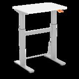 Small Gasspring Sit-Stand Desk - BouncyDesk - Swing Desk