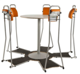 Stand4Work meetingset Stand 4 Work S4W multicolor worktrainer.com
