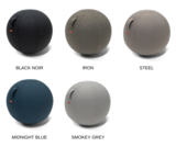 Kleuren Office Ball zitbal | Ergonomische balansbal | Fitnessbal | Worktrainer.nl