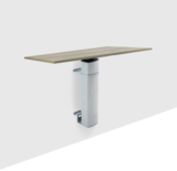 Electric Sit-Stand Table - Conset 501/19 Wall - worktrainer.com