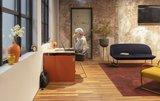 Inklapbaar elektrisch zit-sta bureau - HomeFit - Worktrainer.nl
