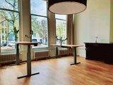 Zeer stabiel zit-sta bureau - Steelforce 270 - Worktrainer.nl