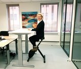 Very stable sit-stand desk - Worktrainer.com