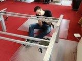 Double Electric Sit-Stand Desk - SteelForce 470 - Worktrainer.com