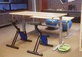 Handslinger Zit-Sta Bureau - AluForce 110 - Worktrainer.nl