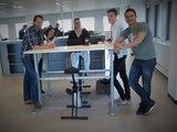 Manual Sit-Stand Desk - AluForce 110 - Worktrainer.com