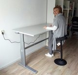 Sit-stand desk AluForce 270 Home or at the office | A270 (NEN) - Worktrainer.com