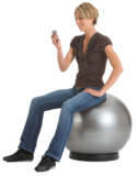 ABS Togu Powerball zitball officeball actief meubliair kantoorbal worktainer.nl worktrainer.com
