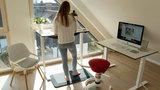 Aeris Active Office Furniture mat   Floor mat