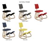 Varier Variable plus kneeling chair active furniture balance chair knee chair worktrainer.com worktrainer.nl