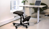 Varier wing knee chair active furniture balance chair knee chair worktrainer.com worktrainer.nl