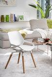 Numo design chair | active furniture | numo wood legs | worktrainer.nl | worktrainer.com