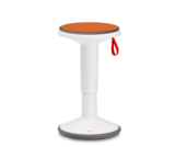 Up balance chair with cusion | balance stool | Interstuhl | wobble stool | active furniture worktrainer.com