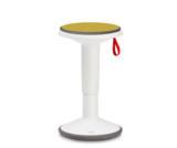 Up balance stoel met kussen | Balance kruk | Interstuhl | wiebelkruk | actief meubilair worktrainer.nl