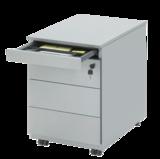 Drawer Unit 3 drawers - 81-series storage desks Worktrainer.com