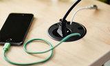 Built in socket Power Dot power strips Worktrainer.com