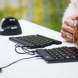 R-Go Split Break Ergonomisch toetsenbord | Worktrainer.nl