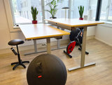 Balancing chair Balergo Balancing stool wobble chair worktrainer.nl worktrainer.com