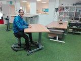ergonomisch zit sta kantel bureau | kies voor een gezonde werkplek bezoek Worktrainer.nl