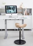 stokke zadelkruk | balanskruk | wissel staan en zitten achter je bureau af | Worktrainer.nl