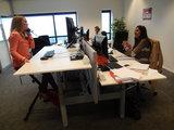 Deskbike bureaufiets | Fiets je fit achter je bureau | Worktrainer.nlmet worktrainer