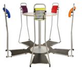 Stand4Work vergaderopstelling staan achter je bureau | ergonomisch kantoormeubilair | Worktrainer.nl