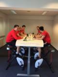 vergadersetting stabureau Wand muurtafel | kies voor een gezonde werkplek bezoek Worktrainer.nl