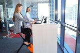 Zit sta Bureau l Deskbike bureaufiets | Fiets je fit achter je bureau | Worktrainer.nl
