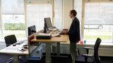 verhoogd zit-sta bureau